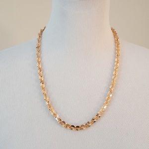 Bronzo, Italian chain necklace,
